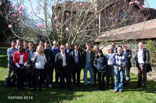 NIHR Programme D Research meeting at the University of Oxford, 2012.